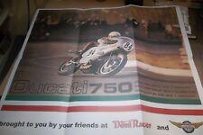 """Original 2000 '00 Ducati 750 Poster 25 1/2' X 22"""""""