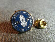 RARE PINS PIN'S - GENDARMERIE NATIONALE - RF 1791 1991 - GRENADE - GRAND BLASON
