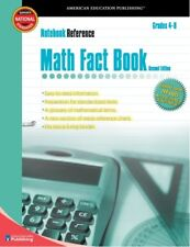 Math Fact Book: Grades 4-8 (Notebook Reference) 2n