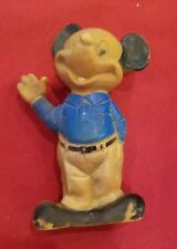 New listing Rare Vintage Toy Mickey Mouse 1965 Rubber Squeeze Toy Marked H.H. - 0119