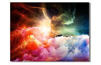 GUTSCHEIN LEINWAND BILD ART GALAXIE STERNE STARS POP ART XXL BILDER 4094 P