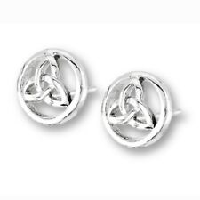 Stainless Steel Celtic Triquetra Stud Earring