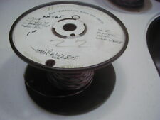 WR-65 #22 PTFE Teflon insulated wire, stranded, silver plated copper 225 ft NOS