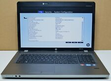"HP ProBook 4730s (XZ703AV) Core i5-2520M 2.50GHz 4GB RAM 17.3"" HD+ Laptop NO HDD"