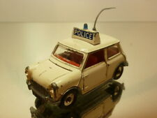 DINKY TOYS 250 AUSTIN COOPER S - POLICE - OFF WHITE 1:43 - GOOD CONDITION