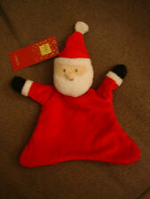 MARKS AND SPENCER M&S SANTA CLAUS FATHER CHRISTMAS RED COMFORTER SOFT TOY BNWT