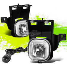 CLEAR LENS OE BUMPER DRIVING FOG LIGHTS+SWITCH PAIR FOR 06-07 FORD RANGER PICKUP