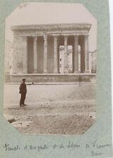 Vienne (Isère). Temple d'Auguste et de Livie. Citrate 1897.