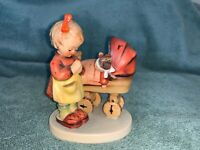 vintage goebel hummel figurine DOLL MOTHER (girl carriage) #67 NO BOX