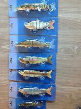 Swimbait poisson nageur imitation réelle de 12,5 à 20 cm