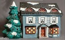 SPRINGFIELD HOUSE #50270 DEPT 56 RETIRED SNOW VILLAGE LOVELY TWO STORY W/DORMERS