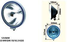2 SUPERBES PHARES 22CM! TYPE LIGHTFORCE HELLA CIBIE OSCAR MONTAGE 10MN! SUPERBE!
