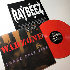 Warzone LOWER EAST SIDE New RED MARBLE Vinyl Record