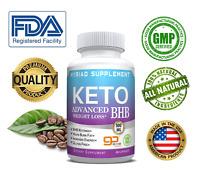 Ultra Fast Pure Keto BHB Weight Loss Diet Pills 60 CAPSULE Ketogenic Supplement