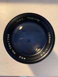 RMC Tokina 135mm 1:2.8 Pour Pentax Monture PK