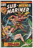 Marvel Comics The Sub-Mariner 1973 #57