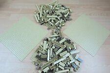 LEGO 2 x Sand/tan Lego Bases 32 x 32 plus a mix of bricks bundle
