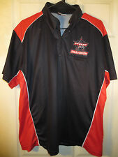 Pro Bull Riding Pbr Television 1/4 Zip Jersey Shirt By 6Shooter Size Large