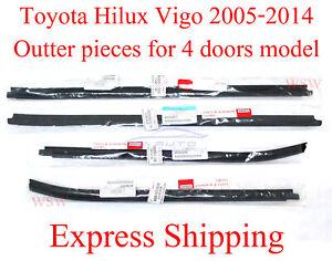 For Weatherstrip Window Door Belt Moulding Seal Toyota Hilux KUN25 VIGO Genuine