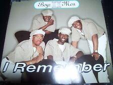 Boyz / Boys II 2 Men I Remember / Vibin' Australian CD Single – Like New