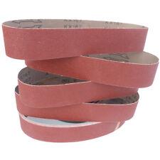 Schleifbänder 50x686 Bandschleifer Korn 40-220 Schleifband Schleifpapier 5 St