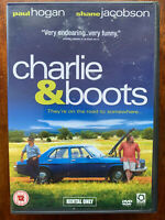Charlie and Boots DVD 2009 Australian Father Son Road Movie with Paul Hogan