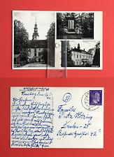 AK SCHREIBERSDORF bei Lauban 1944 Schloss und Kriegerdenkmal   ( 47309