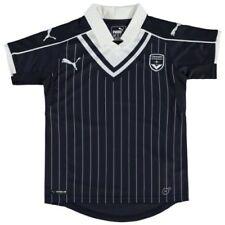 Camisetas de fútbol de manga corta azul PUMA