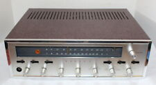 Sansui 1000 AM/FM Vacuum Tube Stereo Receiver ~ Beautiful ~ Crackle Paint