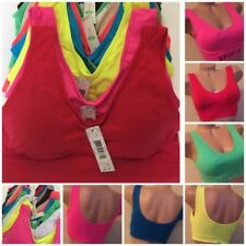 Yoga Synthetic Plus Size Sports Bras for Women
