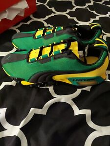 Size 10- PUMA H.ST.20 High Risk  Jamaica ultra  yellow, green, black.