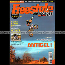 FREESTYLE MOTOCROSS N°10 YVES DEMARIA MICKAËL PICHON MIKE & JEFF ALESI FMX 2005