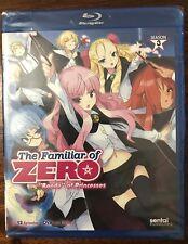 The Familiar of Zero: Rondo of Princesses - Season 3 (Blu-ray 2 Disc, 2015)