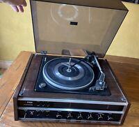 Classic 1970 HITACHI KS-3200R Stereo Receiver w/ Gerrard LAB 55B Turntable COMBO