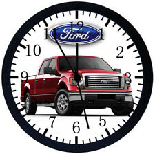 American Pickup Truck Black Frame Wall Clock Nice For Decor or Gifts Z11