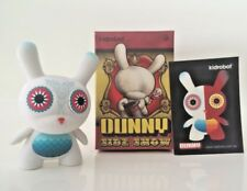 "Kidrobot Side Show 2013 Dunny Nathan Jurevicius Dievas Owl 3"" Signed Flocked Toy"