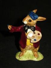 """Royal Doulton, The Artist Bunnykins, Db 13, Figurine, 3 3/4"""" (A)"""