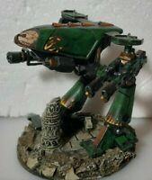 Salamander MK VII Dreadnought Proxy for Warhammer 40k/Space Crusade type Resin