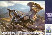 Masterbox 1:24 World Of Fantasy Graggeron & Halseya Figure Model Kit