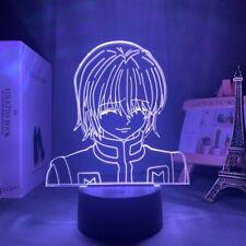 3D Lamp Anime Child Bedroom Decor Nightlight Manga Gift Hunter X Night Light