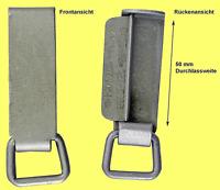 Angebot! Koppelschlaufen 25 Stück der Bundeswehr BW aus Alu Schlaufen