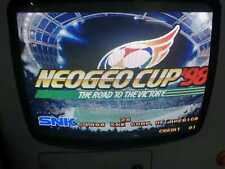 SNK NeoGeo MVS Neogeo Cup '98 Arcade Game Cartridge Tested Working