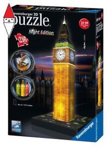 PUZZLE RAVENSBURGER PUZZLE 3D BIG BEN NIGHT EDITION