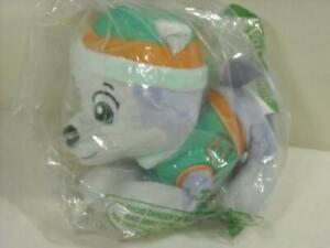"""NEW 2015 PAW PATROL EVEREST PLUSH 10"""" SPIN MASTER GIRL DOG TOY SEALED PACKAGE"""