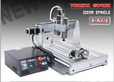 【ES】 4 Axis USB Mach3 6040 2.2KW 2200W CNC Router Engraving Milling Machine 220V