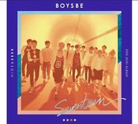 SEVENTEEN BOYS BE 2nd Mini Album SEEK Ver Photobook+Map+Card+Sticker KPOP Sealed