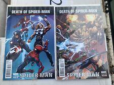 Marvel Comics- Ultimate Spider-Man #157-160 (Death Of spider-Man)
