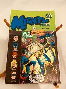 Mighty Comic no. 89, 1972, Australian edition, Justice League of America