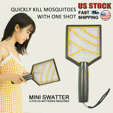 Portable High Voltage Fly Swatter Bug Zapper Mini Size Fly Swatter Pest Control