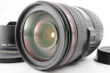 【TOP MINT】CANON EF 24-105mm F/4 L IS USM ZOOM AF Lens +EW-83L Hood Caps From JP
